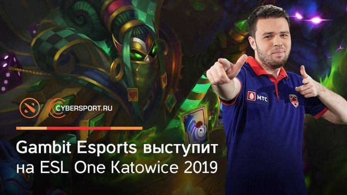 Борьба за путевку на #ESLOne Katowice 2019 выдалась очень упорной, но @GambitEsports оказалась чуточку сильнее и одержала победу в закрытых отборочных для СНГ и Европы: Foto