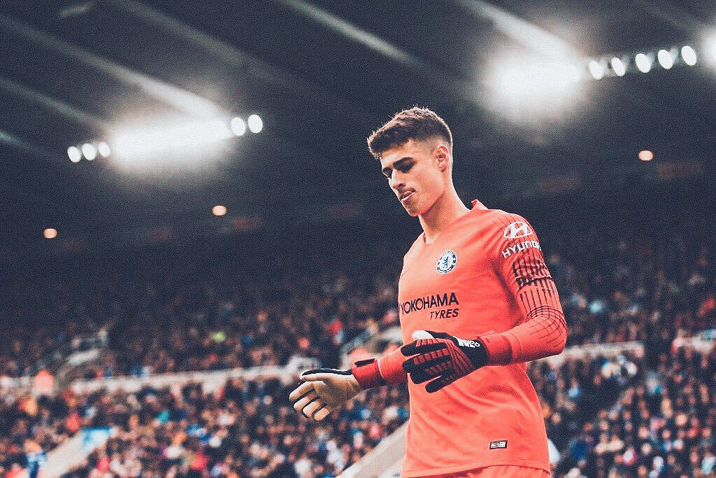 Kepa this season: appearances - 21 clean sheets - 12 conceded - 14 clean sheets against - Huddersfield - Bournemouth - PAOK x2 - West Ham - Vidi FC - Southampton - Burnley - BATE - Everton - Fulham - Manchester City