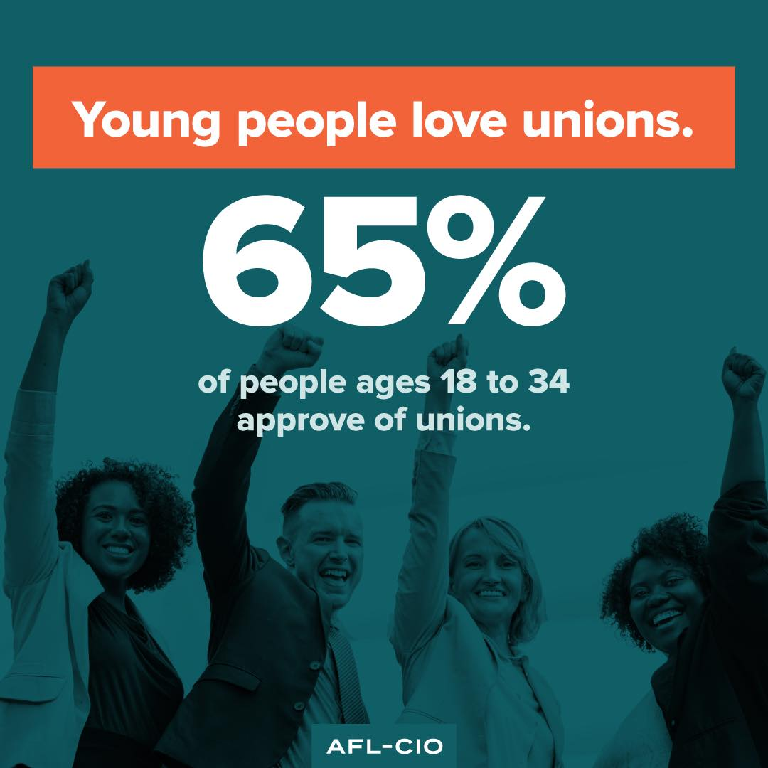 NABTU : RT IUOE148: Unions are becoming more and more popular with younger generations. #UnionStrong  https://ift.tt/2QIg6ke