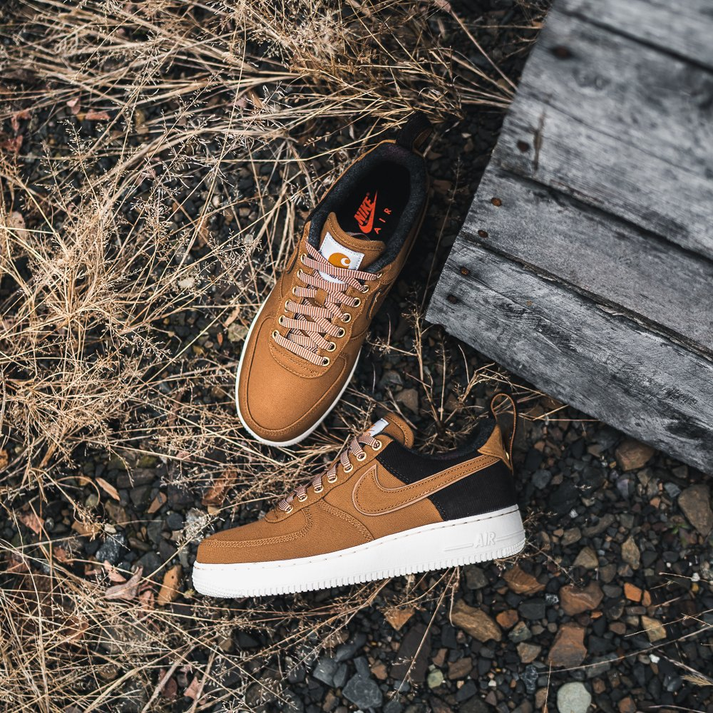 Now Available: Carhartt WIP x Nike Air Force 1 Low
