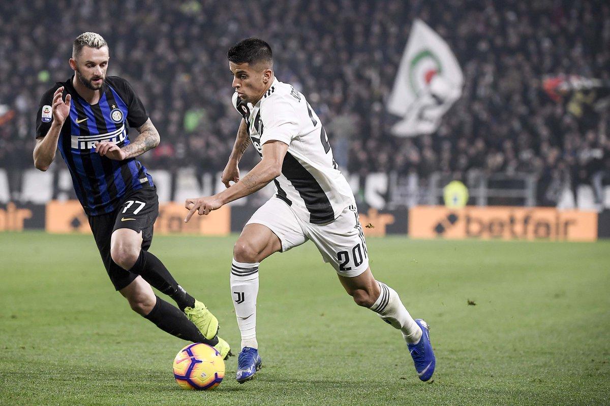 🔝 Power Cancelo 💪 | 📸 Instagram.com/Juventus #JuveInter #ForzaJuve