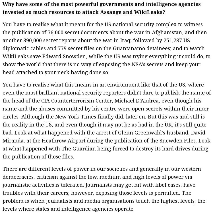 Acclaimed investigative journalist @SMaurizi on @WikiLeaks decade long battle with the real deep state thedailystar.net/opinion/interv…