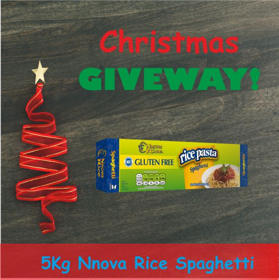 For the chance to WIN  a box of 5 kg of Nnova Rice Spaghetti in our CHRISTMAS GIVEWAY  Special, simply follow us @LatinoGourmetUK, then RT &amp; LIKE the post. Conditions Apply UK mainland only (Contest ends Sunday 16th 11:59 GMT). Good Luck !  #givewaycontest  #LikeToWin <br>http://pic.twitter.com/aAU5nTCpUp