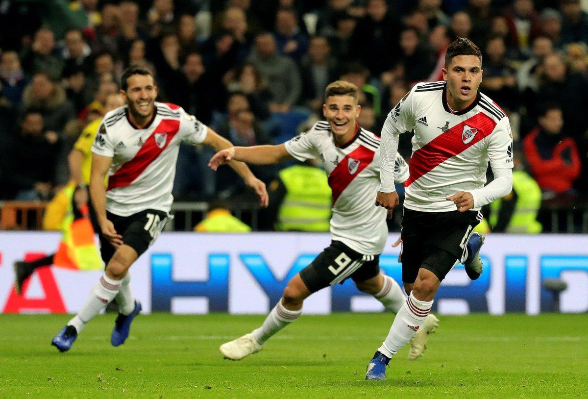 É CAMPEÃO: River Plate bate o Boca Juniors na final da Libertadores da América https://t.co/UhUNE7MpbX