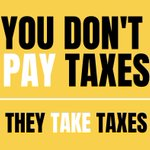 Image for the Tweet beginning: Via taxation: - - #pacifists fund #war -