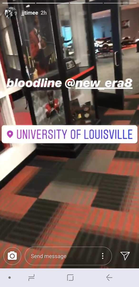 Louisville Sports Live On Twitter JJ Weaver A Current UK Commit Toured UofLFootballs Facilities Today