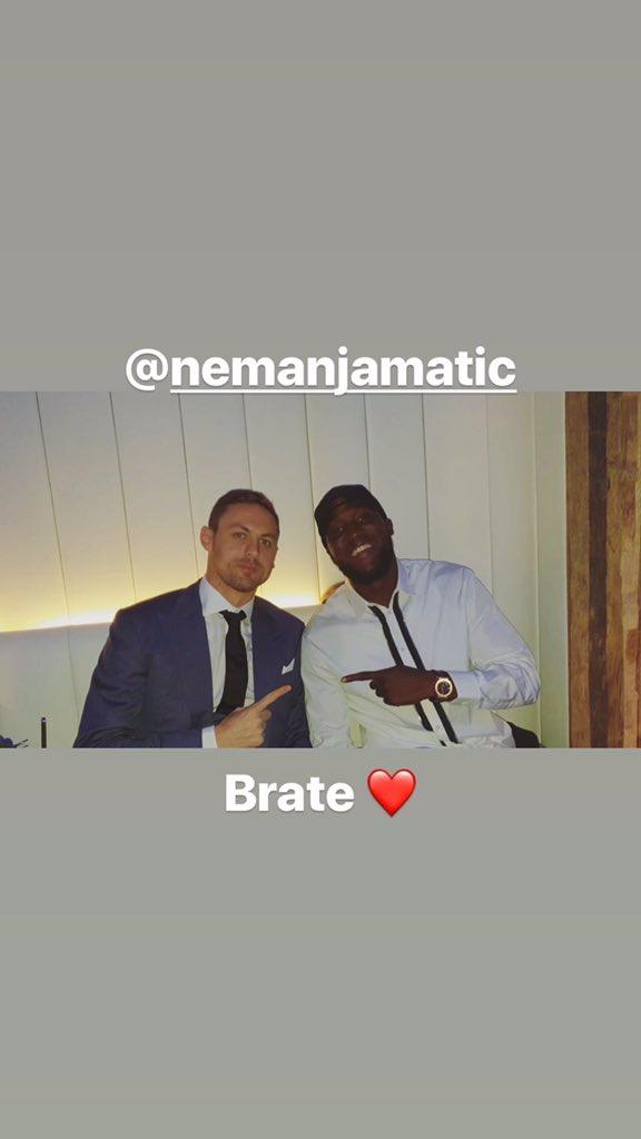 📸 Matic & Lukaku #MUFC