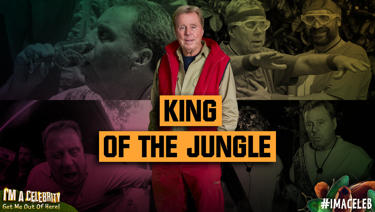 He's been an unforgettable Campmate, and a true Jungle legend. Harry Redknapp is your 2018 King of the Jungle! #ImACeleb #ImACelebFinal