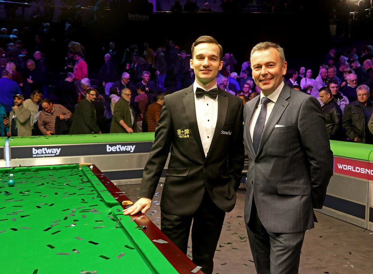 And thank you and congratulations to @germanref who was immaculate today as he took charge of his first triple crown event final! 👏