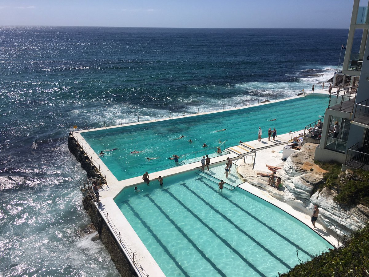 test Twitter Media - This is what a PUBLIC swimming pool looks like in Sydney, Australia. Whoever said the public sector cannot be funky, cool, ambitious, attractive and super well designed! Not impossible. (after my morning swim, off to talk about innovation policy with public sector officials...) https://t.co/WPhynq33Da