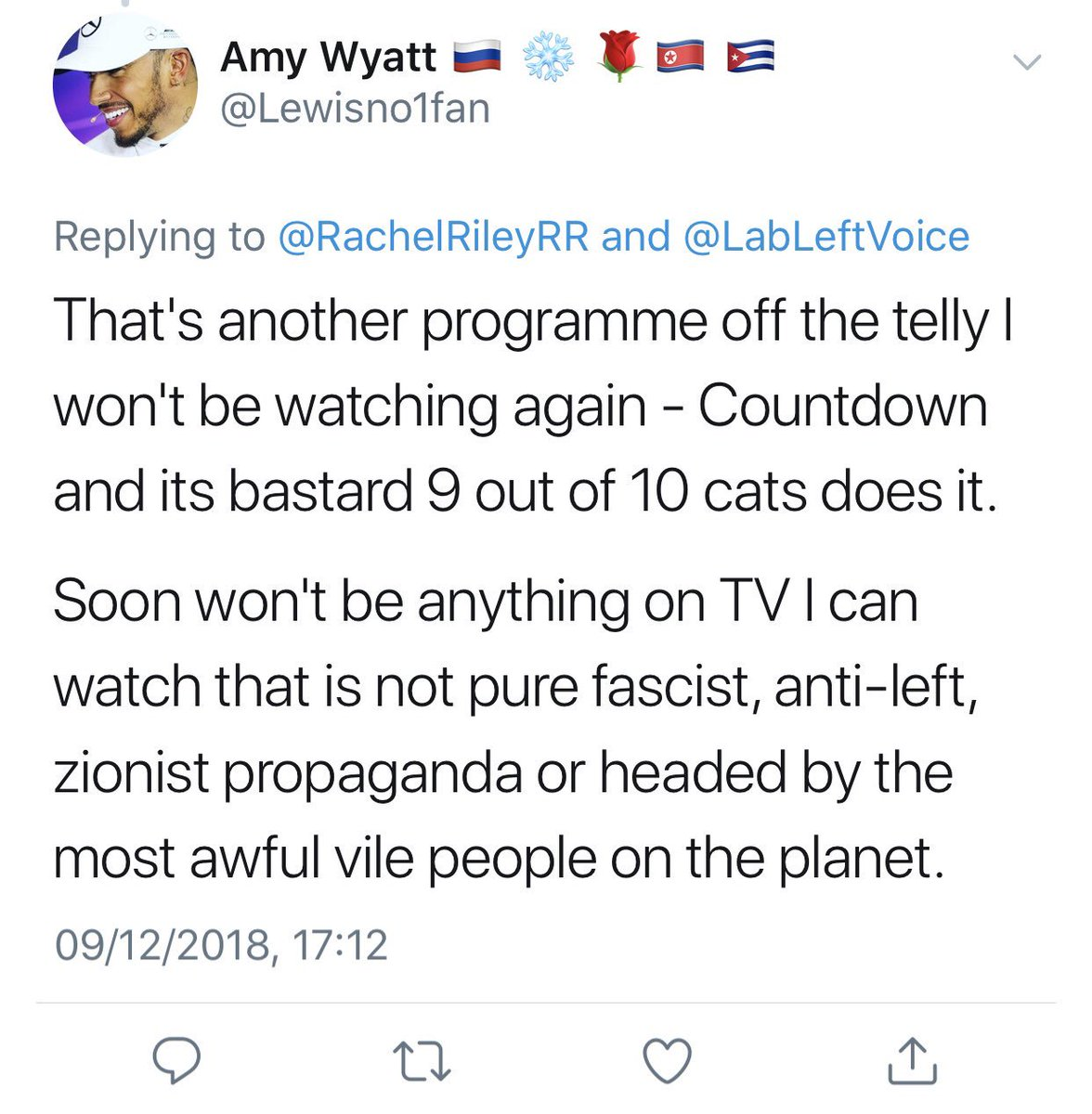 Rachel Riley On Twitter Here S That Post Again As Another Antisemite Runs And Hides