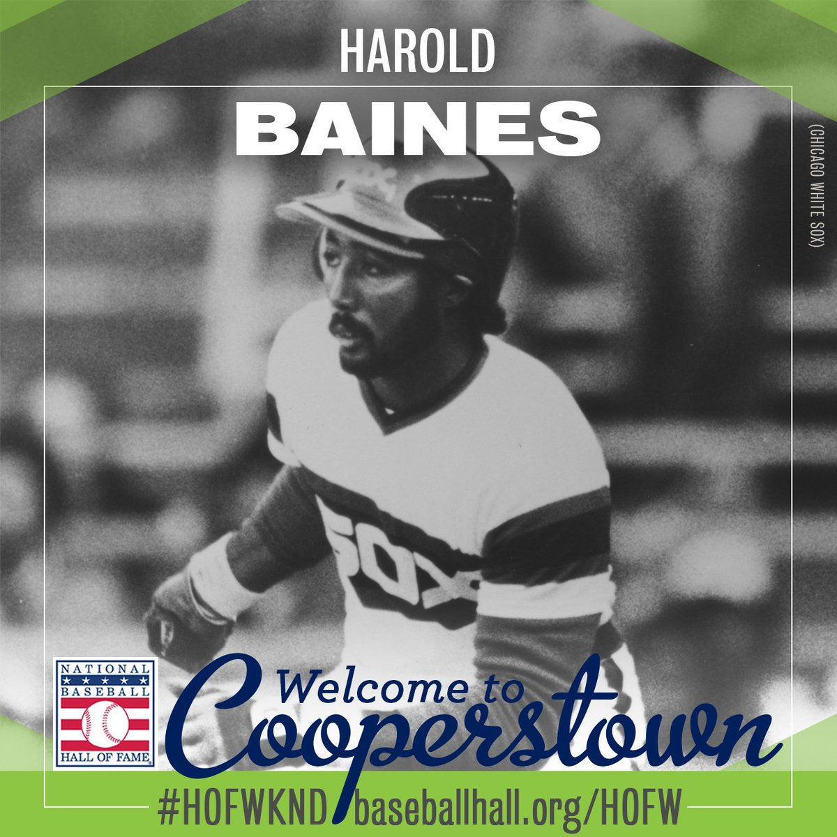 Welcome to Cooperstown, Harold Baines! #HOF2019 https://baseballhall.org/hall-of-famers/baines-harold…