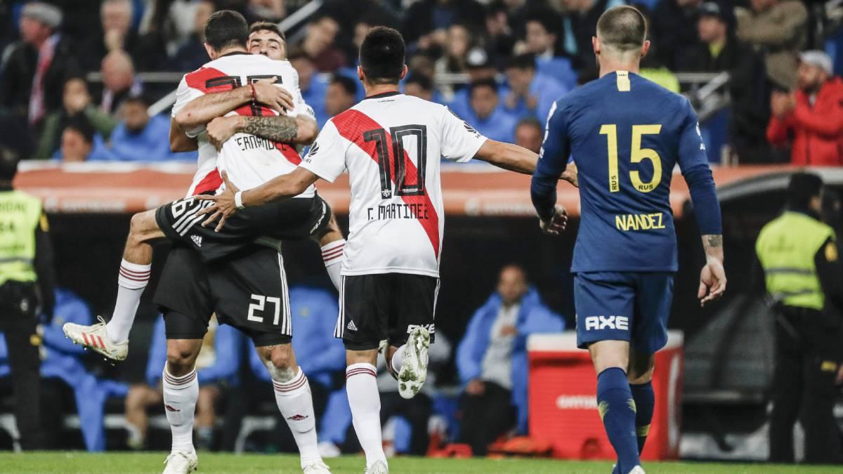 #EstadioSantiagoBernabéu Ganó River y ganó Madrid http://dlvr.it/QtDbqR