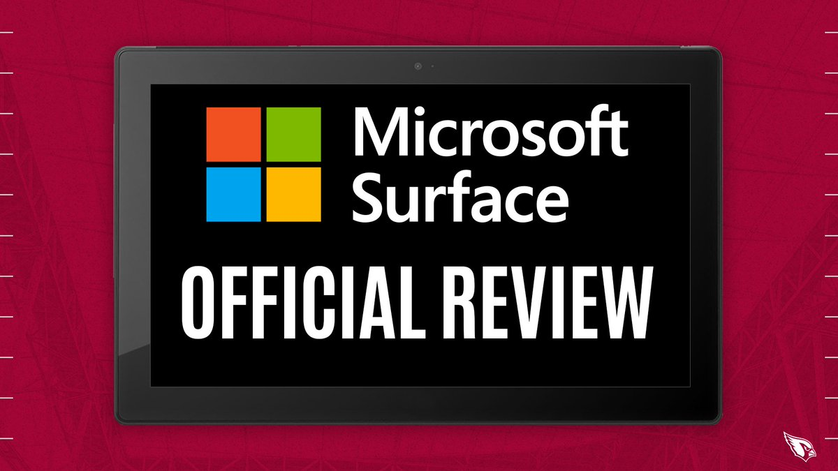 The ruling on the field of a fumble is under review.  @Microsoft @surface Official Review