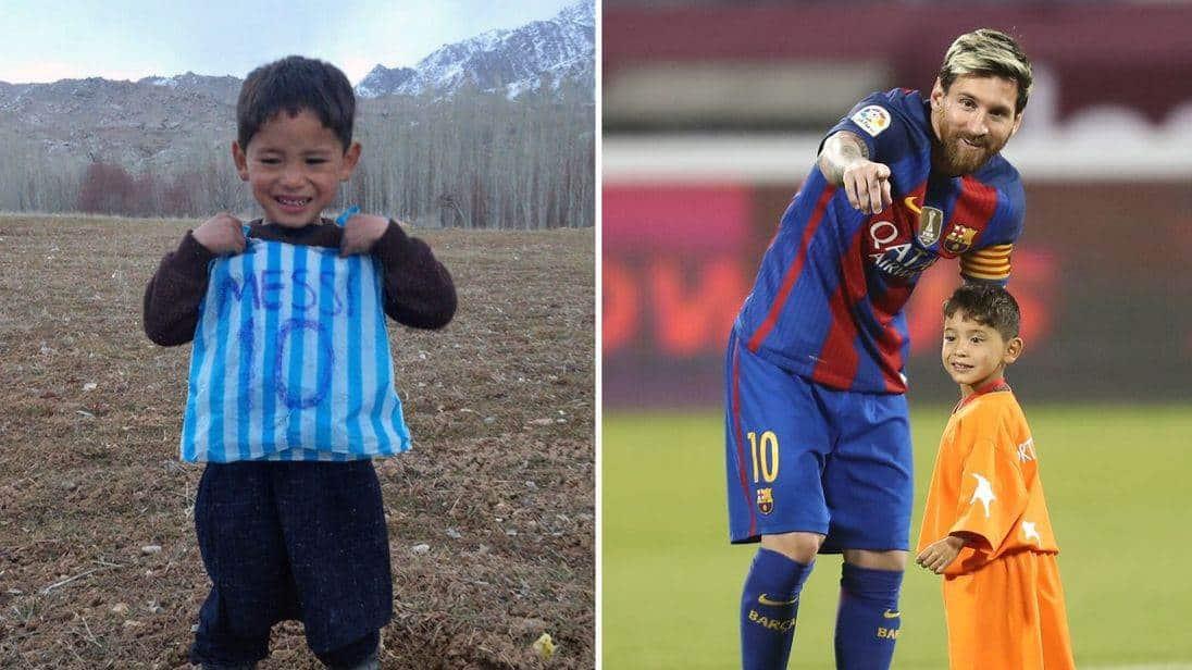 Talibanes buscan a niño que se hizo famoso por camisa de #Messi. ⚽️  Aquí la nota: ➡️ https://goo.gl/ToZgrY