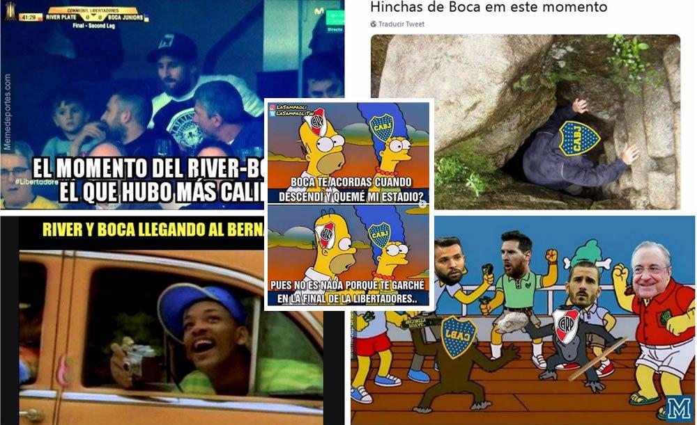 ¡IMPERDIBLES! Los divertidos #memes que dejó la gran final de la #CopaLibertadores que ganó #RiverPlate a #BocaJuniors. #Messi es uno de los protagonistas ➡ http://bit.ly/2C175uq