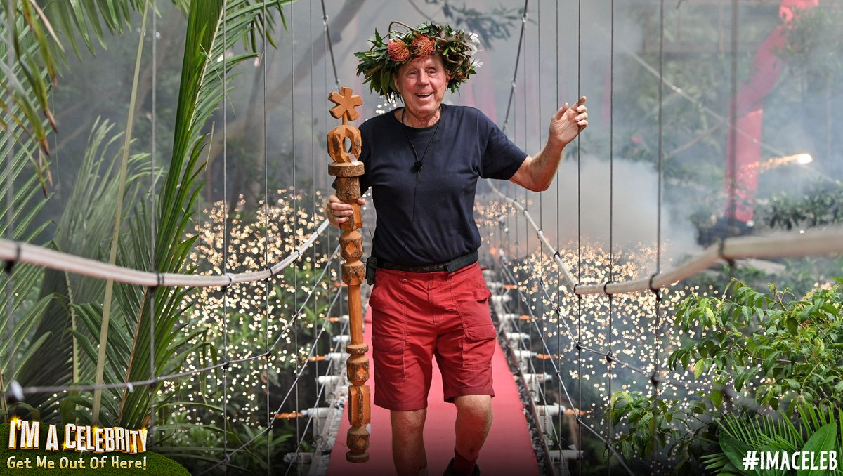 He yabba dabba did it! Harry Redknapp is your King of the Jungle. 👑 #ImACeleb #ImACelebFinal