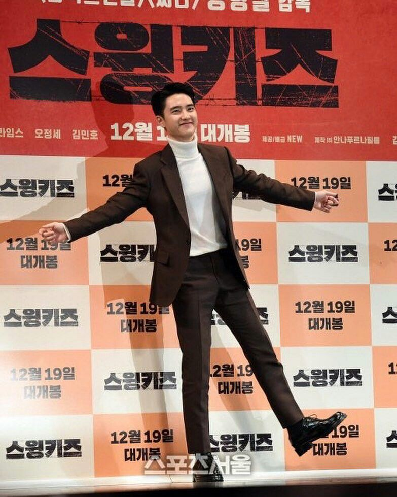 Do Kyung Soo shows tears watching 'Swing Kids'…says he is growing along with the movie  https://t.co/1oDuME4Blp