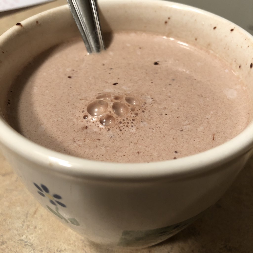 First day back to training after 50-miler. And a nice #hotchocolate to wind down with. That fits. Next race: @HotChocolate15k in Indy. #hotchocolate #yum #hcIndyBR #hc15K #BibChat @BibRave