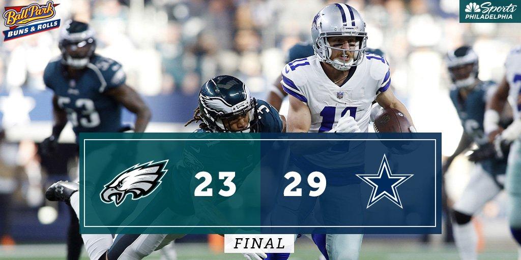 Eagles lose. #BallParkBuns