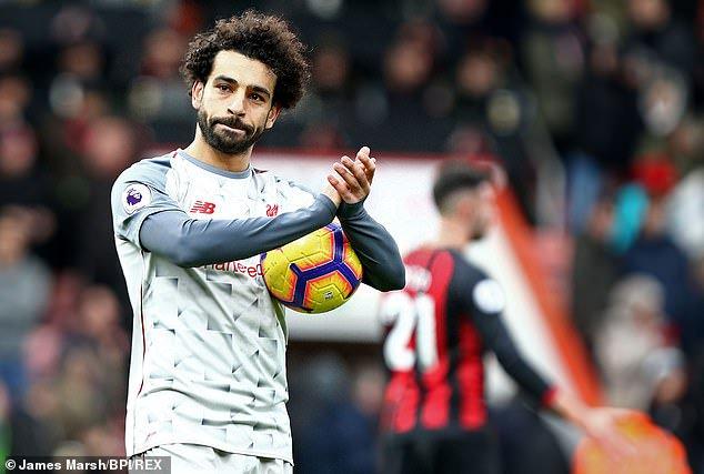 - Statistik Laga Bournemouth vs Liverpool: Hanya Messi yang Mampu Melebihi Gol Mohamed Salah Photo