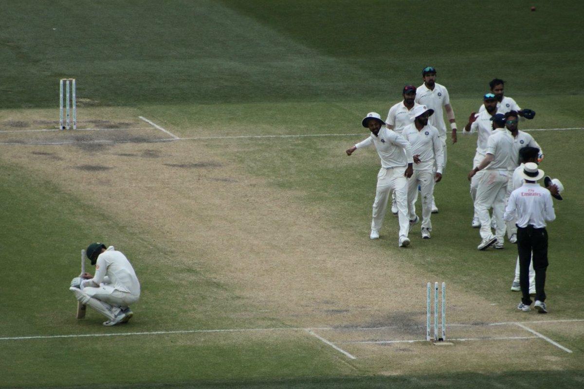 Nathan Lyon, brilliant in defeat. #AUSvIND