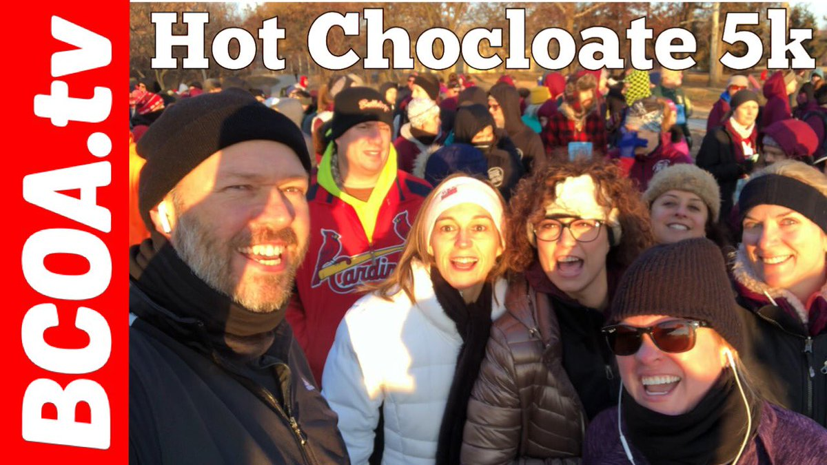 Amie's First 5k Race - Hot Chocolate 5k Saint Louis Missouri.  Amie and I had a good run today with some friends and family.    💥https://youtu.be/qlIZUUKd2MA  #HC15K #HC5k #chocolate #hotchocolate #5k #5krun #first5k