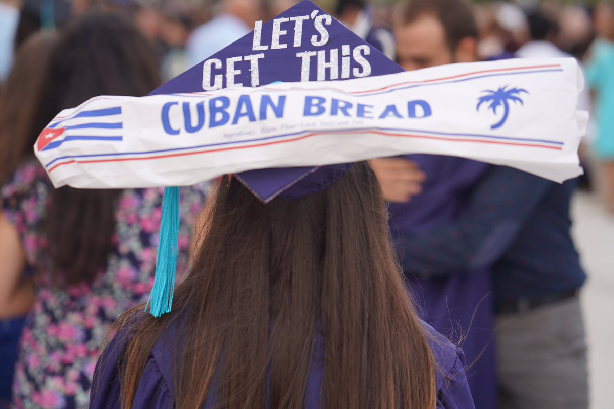 Let's get this pan cubano. #FIUgrad