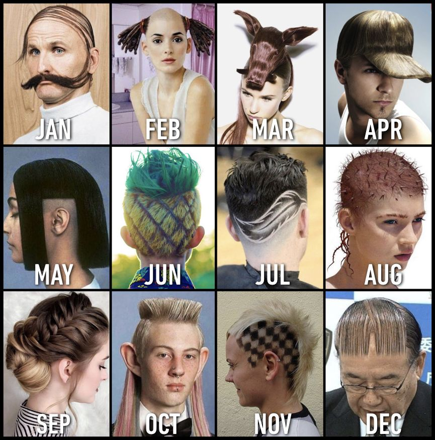 Your birthday month is the hairstyle you should try in 2019