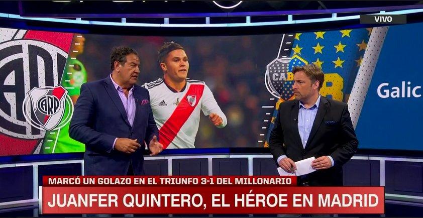 ¡Seguimos con #SportsCenter! Sumate a las pantallas de ESPN y ESPN 2, con todo lo mejor de la consagración de River en la Libertadores.