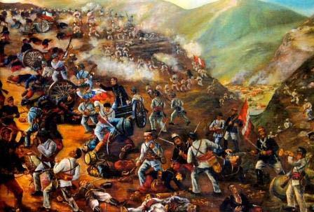 Memorable On Twitter El 9 De Diciembre De 1824 Tuvo Lugar La Batalla De Ayacucho Las Tropas Patriotas Vencieron A Las Realistas Definiendo La Independencia Del Peru En La Batalla Combatieron Tropas