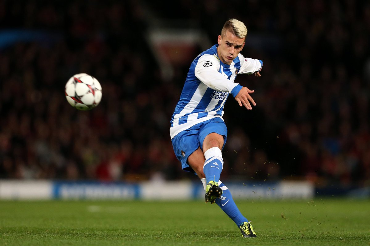 """""""Many clubs rejected me, but I wanted to be a footballer and to learn as quickly as possible, so I persisted until I got into Real Sociedad when I was 13"""". #Griezmann"""