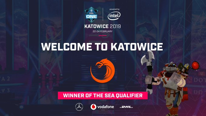 🇵🇱⚙️ Representing the SEA region, @TNCPredator will be looking to cause a splash at #ESLOne Katowice! 🎟️ Foto