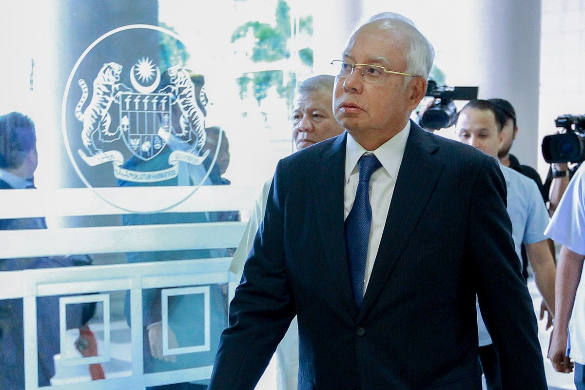 #NSTFlash: Datuk Seri Najib Razak has been detained by #MACC over the tampering of #1MDB final audit report - MACC source