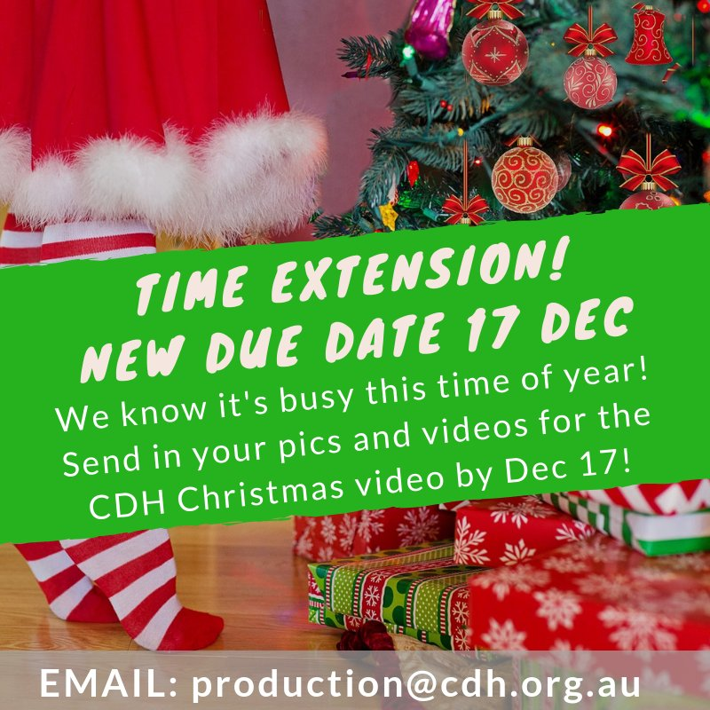 Christmas In Australia Date.Cdh Australia On Twitter We Know It S Busy This Time Of