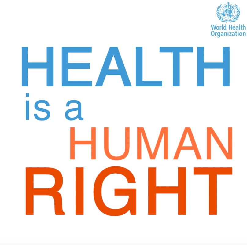 On #HumanRightsDay our message is clear: HEALTH IS A HUMAN RIGHT HEALTH IS A HUMAN RIGHT HEALTH IS A HUMAN RIGHT HEALTH IS A HUMAN RIGHT HEALTH IS A HUMAN RIGHT #StandUp4HumanRights, stand up for #HealthForAll!