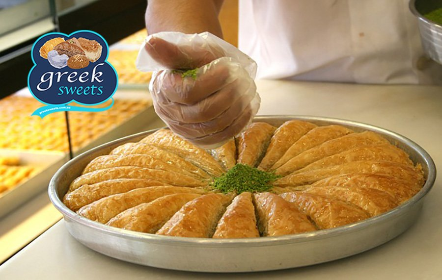 Traditional Greek sweets and more delivered in Sydney, FREE shipping. Get our famous Baklava delivered at home or work. #galaktoboureko #sweet #dessert #dessertlovers #dessertblogger #desserttime #greeksweets #friends #family #tagafriend #tellafriend #sydneyfood #sydney #baklava<br>http://pic.twitter.com/EkrZdVdMj1