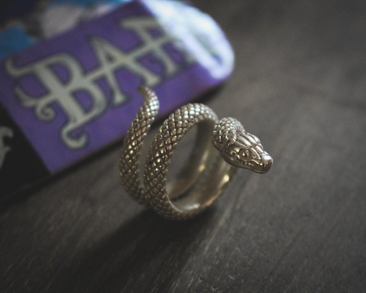 How do you like the @bam_merch silver snake ring?