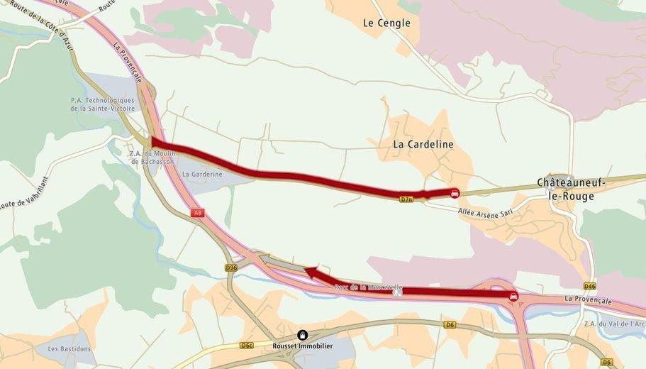 #Giletsjaunes : blocage à hauteur de la Dn7 à l'Ouest de Châteauneuf-le-Rouge https://t.co/26PexXaBiJ