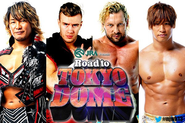 NJPW Road To Tokyo Dome Cards Revealed: Kenny Omega And Kota Ibushi Teaming Up