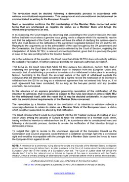 ECJ Press Release C-621/18 Wightman page 2