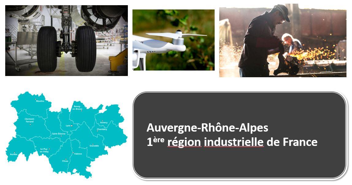Auvergne-Rhône-Alpes, 1ère région industrielle de France : Via Compétences et Auvergne-Rhône-Alpes entreprises présentent la richesse de l'industrie en région et les métiers qui recrutent  https://t.co/utenZ9tgcG https://t.co/HSqaxj97MY