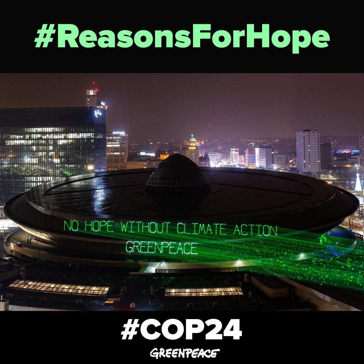 This is a climate emergency. We have to act NOW. act.gp/2zNDl2v #ClimateActionNow #COP24 #ReasonsForHope