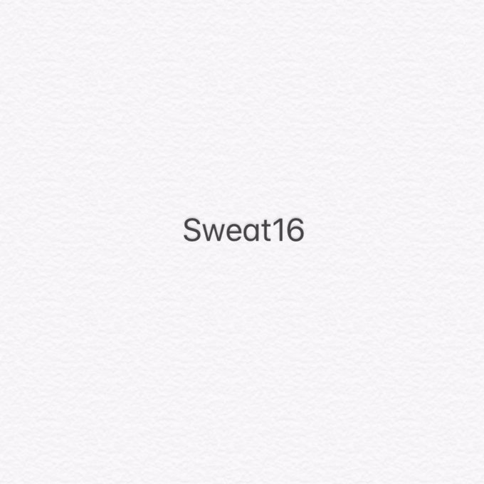 ขอทวิตอะไรน่ารักๆหน่อยนะ #Sweat16 ภาพถ่าย