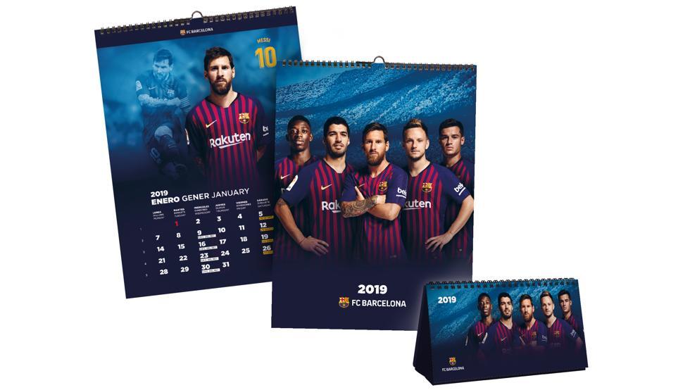 Ya está aquí el calendario oficial del Barça 2019 https://t.co/a446sGb0W0