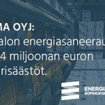 Image for the Tweet beginning: Vastuullisten energiankäyttäjien joukossa Sanoma Oyj: