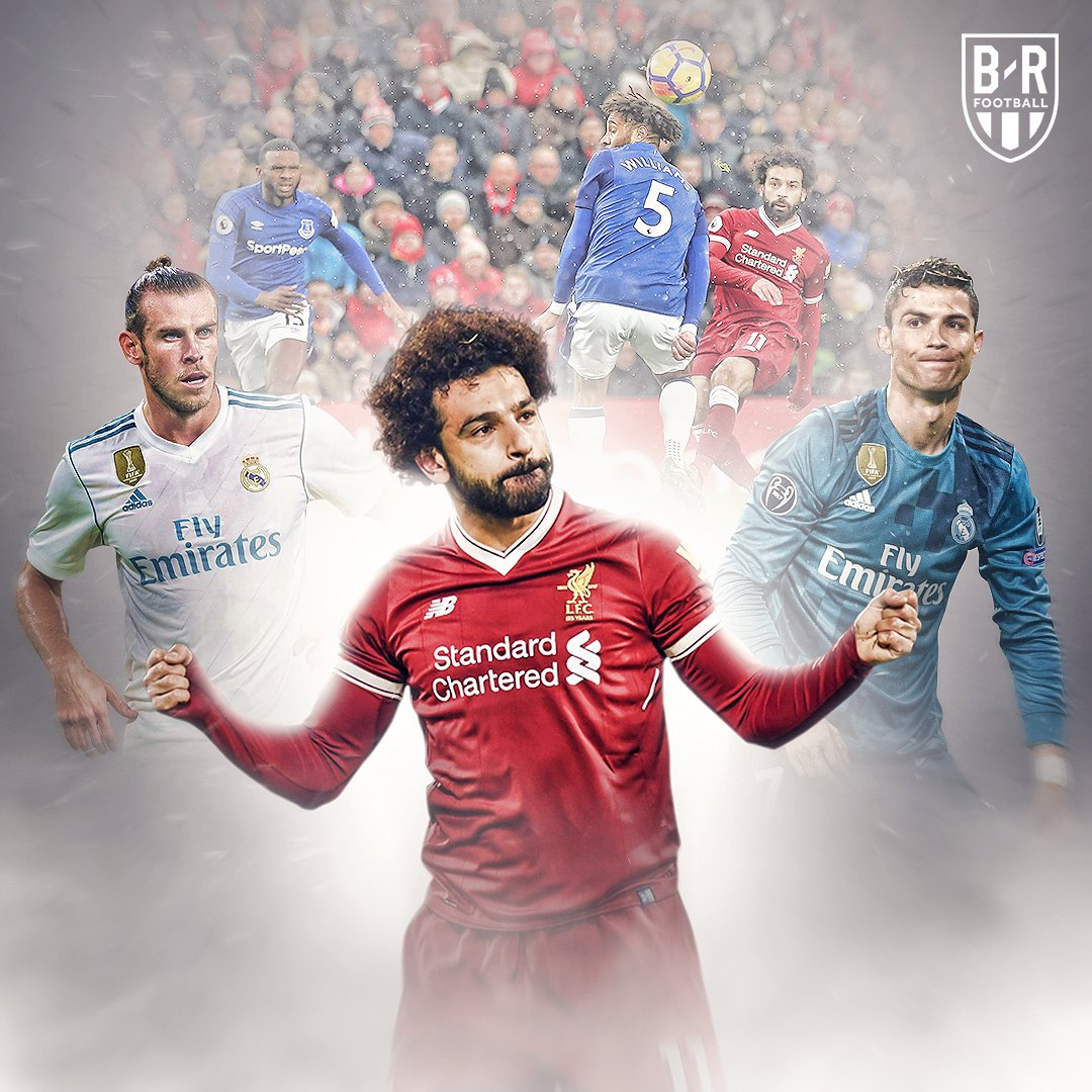 One year ago today, @MoSalah scored the goal that would beat Ronaldo and Bale to the 2018 Puskas Award 🤔