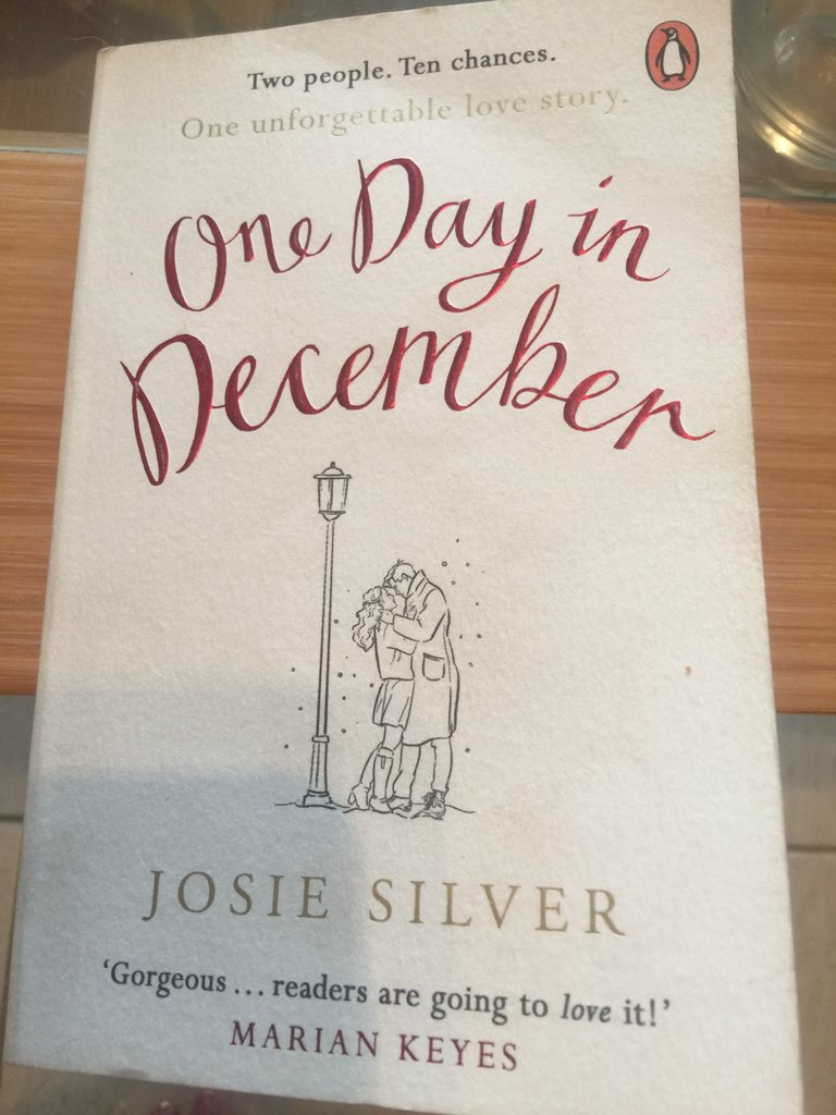 Perfect holiday read #onedayindecember Josie Silver Super author from the Midlands <br>http://pic.twitter.com/zrSYGmtoFx