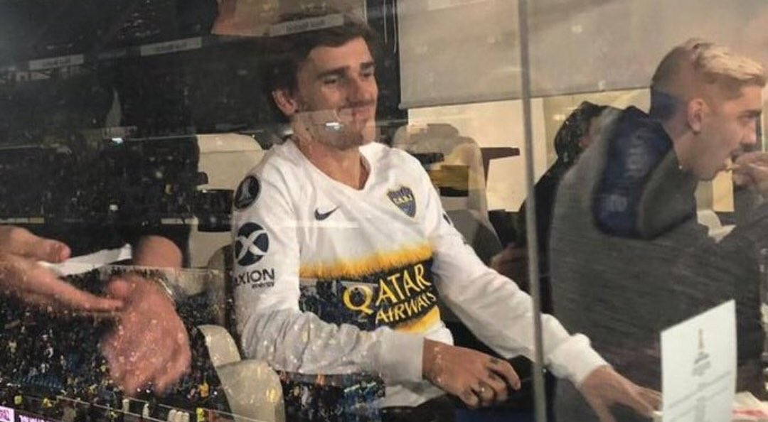 ¡Patético y gafe! Griezmann hundió a Boca en el Bernabéu  https://goo.gl/hXc9Uy  #CopaLibertadores #Griezmann