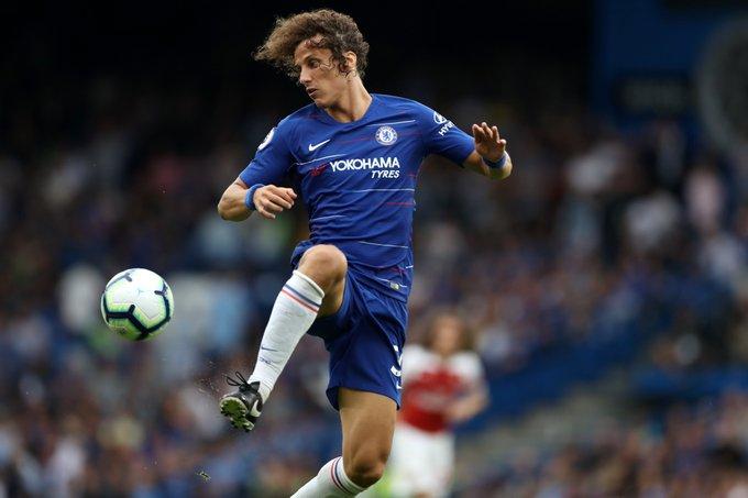 Chelsea: la politique contractuelle qui pourrait faire partir David Luiz Photo